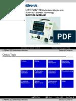 Medtronic LIFEPAK 20 - Service Manual