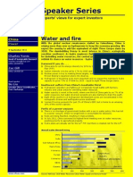 CLSA Fire and Water 2011