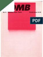 BOMB Magazine NYC