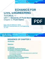 EBVF4103 (Chapter 2) Fluid Mechanics for Civil Engineering