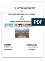 NTPC Project Report