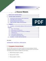 Propagation Channel Models