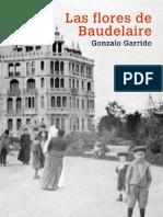 Portada de la novela Las Flores de Baudelaire, de Gonzalo Garrido