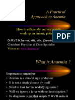 Anaemia Comprehensive by Dr Sarma