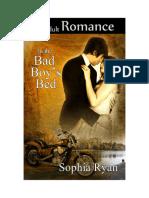 In the Bad Boy's Bed - Sophia Ryan