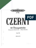 Czerny Op.481 - 50 Studies (Stufe 1-3)