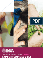 Inra - Rapport annuel 2011