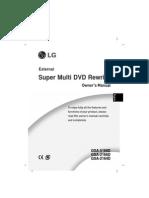 Lg Gsa-2164d-Eng User Manual