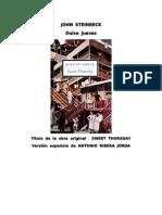 Steinbeck, John - Dulce Jueves