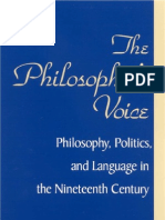 Andrew Fiala - The Philosopher's Voice; Philosophy, Politics, and Language in the Nineteenth Century 2002