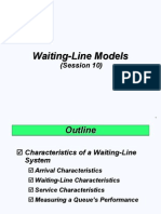 Session 10 (Waiting Line Model) FINAL