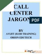 Call Center Jargons(1)
