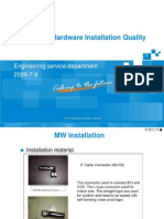 4.2-MW&MUX Hardware Installation Quality