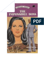 Jane Corrie - The Impossible Boss