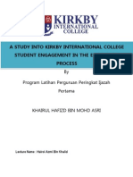 Study Student Engagement in KIC