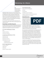 Principles Marketing Fact Sheet