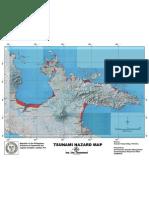 Camarines Sur Tsunami Hazard Map-PhiVolcs