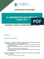 Barometro Dei Mercati 2012 Maggio