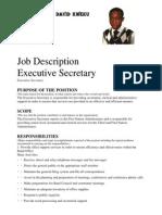 Duties of a Secretary
