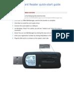 SIM Reader installation guide
