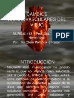 Cambios Cardiovasculares Del Viejo
