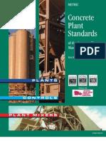 Concrete Plant Standars