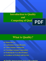 1. Introduction to Quality Management and Dimentions of Quality