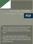 Regional Flood Frequency