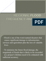 Regional Flood Frequency