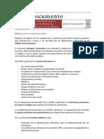Resumen Competencias y Funciones. Diputaciones Provinciales