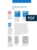 Bus & Cycle Signs & Markings