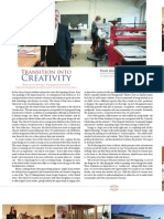 Miami University's School of Creative Arts in Venue Magazine