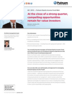 Putnam Equity Income Fund Q&A Q3 2012