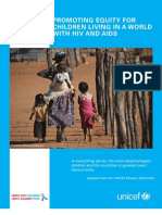 Promoting Equity for Children Living in a World with HIV and AIDS