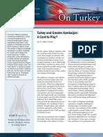 Turkey and Greater Azerbaijan
