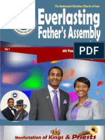 6th Year Anniversary Newsletter of RCCG Everlasting Father's Assembly, LEEDS, UK