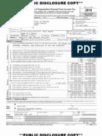 Art Institute of Chicago Tax Form 990 2011