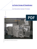 Understanding Vector Group of Transformer Full