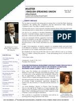 ESU-Mauritius Newsletter - June 2012