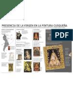 Infografía Presencia de la Virgen en la pintura cusqueña - María Pía Flores