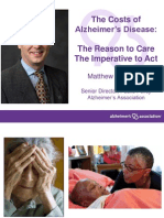 The Costs of Alzheimer's Disease:
