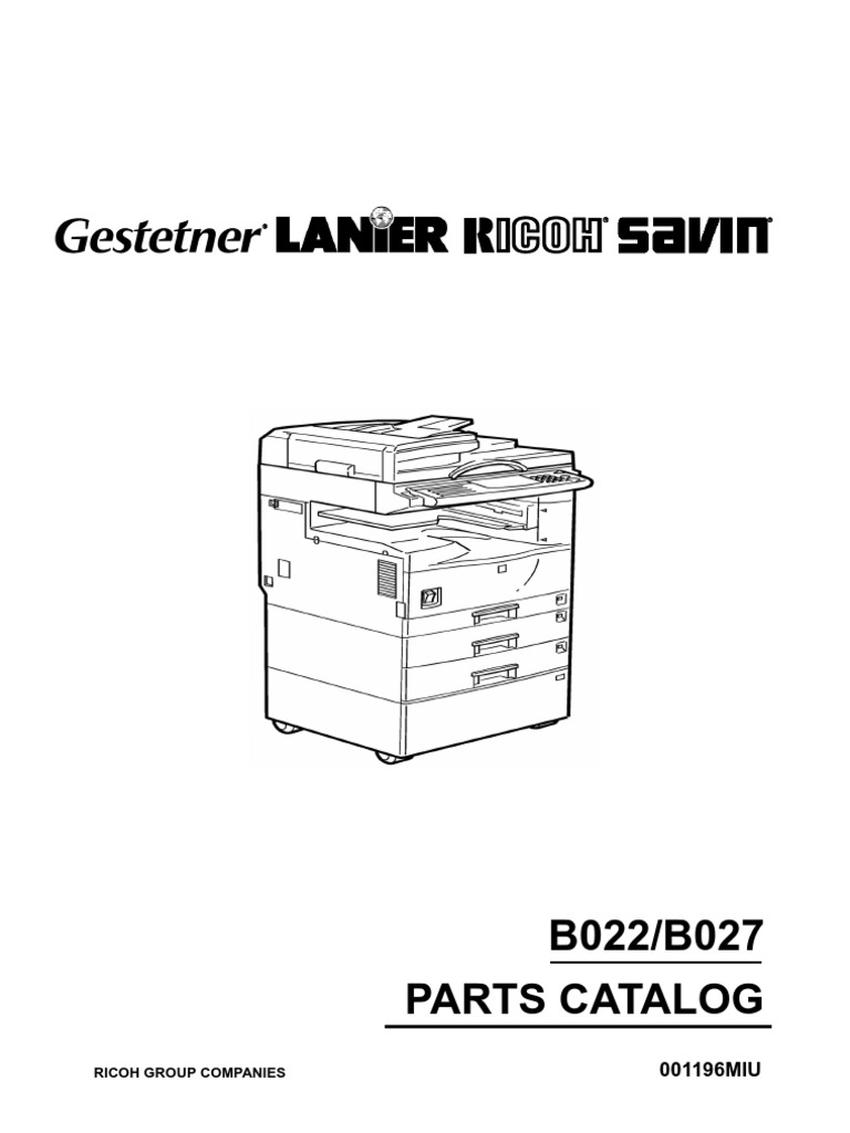 partes ricoh b022 aficio 1022 1027 rh scribd com ricoh aficio 1022 service manual download Ricoh USA