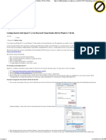 Getting Started with OpenCV 2.3 in Microsoft Visual Studio 2010 in Windows 7 64-bit « siddhant ahuja (sid)