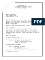 LACMA 990 Tax Form 2011