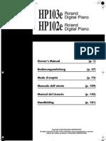 Hp102e Manual