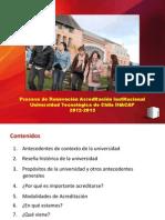 Reuniones Informativas Ampliadas Alumnos UTCI 2013