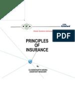 Principal of Insurance