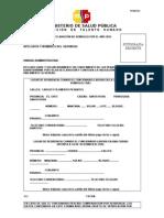 Formulario 002 MSP
