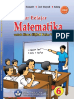Gembar Belajar Matematika 6 - [untuk Kelas 6 SD/MI]