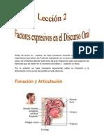 2.Factores Expresivos en El Discurso Oral